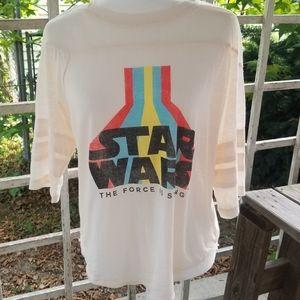 Star Wars Women's Shirt Size Large L